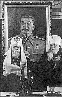 Stalin Iglesia ortodoxa